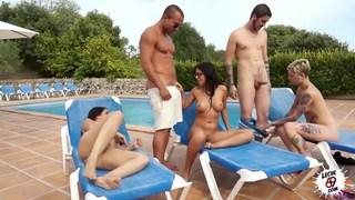 拉丁美洲池畔狂欢