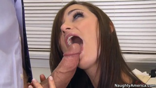 Jack Lawrence fucks his student Lily Carter in classroom