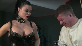 BDSM XXX奴隶直夹克和肛门钩
