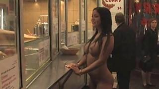 户外BDSM奴隶公共肉类