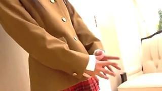 甜美的日本女孩做Cosplay