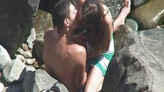 裸体海滩电影偷窥性偷窥