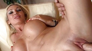 Breasty darling acquires a zealous from behind sex