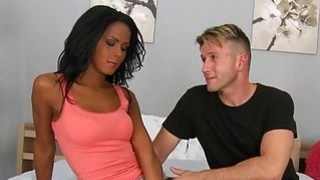 Tanned whore adores banging of her pussy aperture