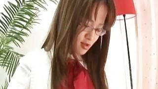 亚洲青少年与猫玩具手淫