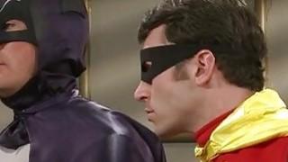 亚历克西斯普雷斯利在这个色情模仿中乱搞蝙蝠侠