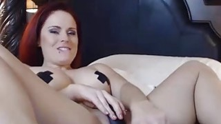 OMBFUN.com BIG SQUIRT @ 6-15 Titty Brunette巨大的Cum Orgasm OhMiBod振动器