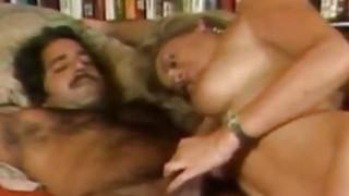 Penny Morgan和Ron Jeremy Blonde Bimbo Porno