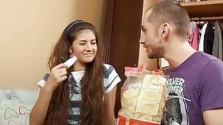Sexy Czech teen lies to try anal