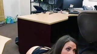 Big white blonde milf full length PawnShop Confession!