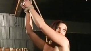 精湛的红发妓女得到了绑定和支配
