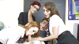 An intense foursome fuck in the couch