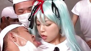 角色扮演Vocaloid初音未来宠爱她的粉丝