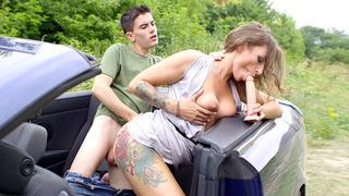 艾娃奥斯汀被她害羞的乘客搞砸了