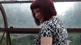欧洲成熟的胖老太克里斯蒂娜