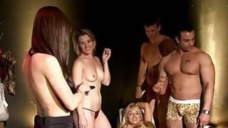 性感的女士与角质男士玩得开心