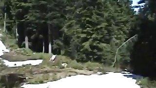 热熟女在树林里吹一只公鸡