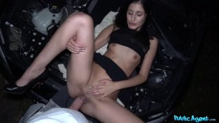 Coco Kiss gets help with her broken car and wet pussy