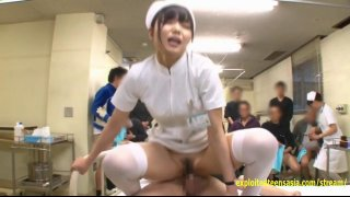 Aoi Shino Gets 50 Creampies From Outpatients