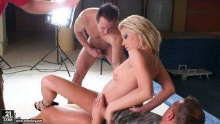 Tired pornstar Alma Deluxe desires to make a hot porn clip