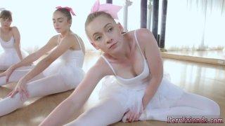 热暨派对和最好的裙带作弊芭蕾舞女演员
