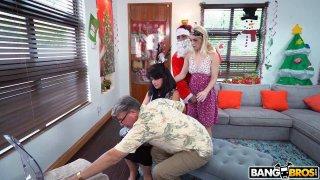金发和淘气圣诞老人圣诞特别