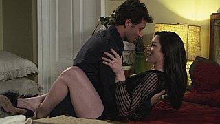 在酒店房间充满激情的性爱