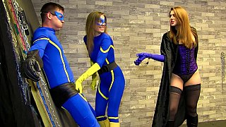 超级英雄角色扮演恋物癖性交