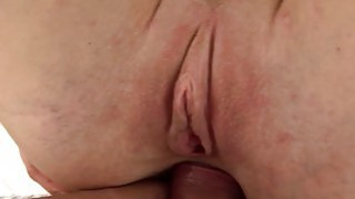 Dirty slut Ally fills her mouth with cum after har