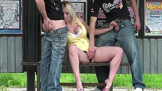 Spit-roast in public