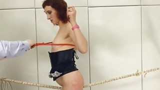 To much of rope and extreme BDSM submissive fuck