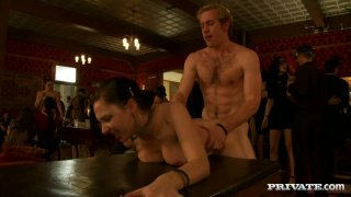 Too spoiled chick Tara Lynn Foxx gets fucked mish at the party